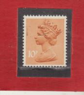 1976 - Serie Courante / ELIZABETH II    Mi No 697 Et Yv No 781 - Machin-Ausgaben