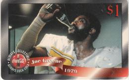 USA - Coca Cola, Joe Greene, Sprint Promotion Prepaid Card $1(01/50), Exp.date 10/97, Mint