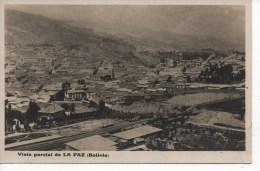 *  BOLIVIE - LA PAZ -  Vista Parcial De La PAZ - Bolivie
