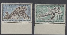 CSSR Michel No. 1183 - 1184 ** postfrisch / No. 1183 Gummim�ngel
