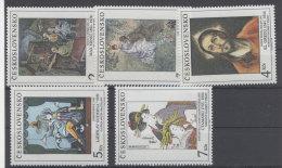 CSSR Michel No. 3102 - 3106 ** postfrisch