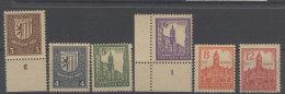 West Sachsen Michel No. 156 - 161 y ** postfrisch