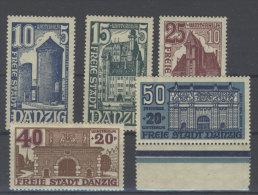 Danzig Michel No. 262 - 266 * ungebraucht