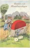 Cpa/pk 1940 Groeten Uit Hemelveerdegem - Lierde