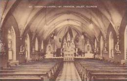 Illinois Joliet Interior St Joseph Chapel St Francis Artvue