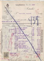 #3415 Gastronomy, 1910 Invoice Of Schmidl L. Chocolate Factory Gyor To Sallak Dezso Dealer In Kolozsvar,Transylvania (1) - Autriche