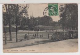 64 - BAYONNE - Les Glacis - Animée - Train ? Ou Tramway ! - Bayonne