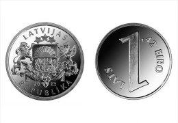 LATVIA 1 Lats 2013 Coin Pariteta.UNC - Latvia