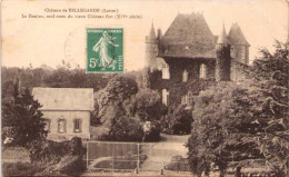 Château De BELLEGARDE (Loiret) - Le Donjon, Seul Reste Du Vieux Château-Fort - France