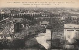 PANORAMA DE BOULOGNE BILLANCOURT PRISE DE LA TERRASSE DE L'ANCIEN CHATEAU DE MME DE POMPADOUR -92- - Boulogne Billancourt