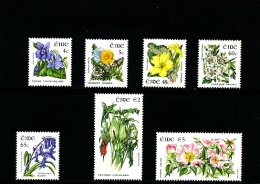 IRELAND/EIRE - 2004  FLOWERS SET  MINT NH - 1949-... Repubblica D'Irlanda