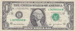 Etats-Unis d�Am�rique - Billet de 1 Dollar - George Washington - S�ries 2003 A - San Francisco L