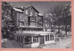 OUDE POSTKAART ZWITSERLAND SCHWEIZ SUISSE HOTEL ENGEL ENGELBERG  1948 - OW Obwald