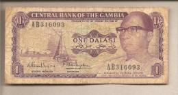 Gambia - Banconota Circolata Da 1 Dalasi - Gambia