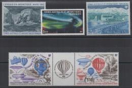 TAAF - YT PA N° 79 à 83A - Neufs ** - MNH - Cote: 13,75 € - Posta Aerea