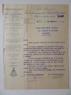 Lettre 1943 Charbonnages du Nord de Charleroi � Roux