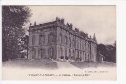 LE BOURG St LEONARD - Le Château - Vue Sur Le Parc - France