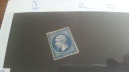 LOT 221891 TIMBRE DE FRANCE NEUF* N�14 VALEUR 400  EUROS