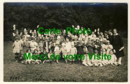 Eslettes  - Carte Photo - Colonie De Vacances Marie Thérèse  -  Fête Avec Lampions.......Année 1928 - Altri Comuni