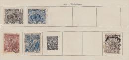 GUYANE FRANCAISE / 1905 / 5 Timbres Sur Charnières Neufs Et Oblitérés Sur Page  Ancien Album / Petit Prix - Guyane Française (1886-1949)