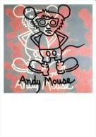 Andy Mouse Postcard RPPC - Size:15x10 Cm. Aprox. - Disney