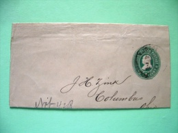 USA 1899 Newspaper Band To Columbus Ohio - Franklin (Scott W357) - 1847-99 Unionsausgaben