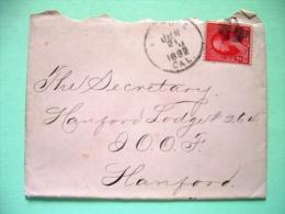 USA 1892 Cover To Stanford - Washington (Scott 220) - 1847-99 Unionsausgaben