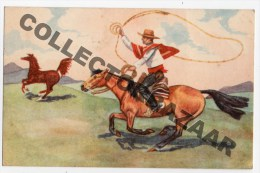 Chile Lobo El Chucaro Tarjeta Postal Ca1940 Horse Postcard W4-430 - Cile