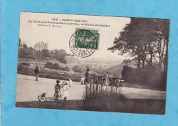 +434) 9)  SAINT BRIEUC   Promenade Derriere Le Palais De Justice 1907  ( 1 MICRO  CORNURE SINON Tres Tres Bon  état) - Saint-Brieuc