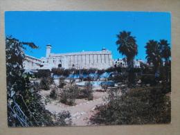37325 PC: ISRAEL: Jerusalem: Hebron: Brahim Mosque. - Israel