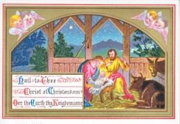 VICTORIAN  ERA  1880´s   CHRISTMAS  CARD - Christmas