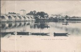 POISSY Le...... Les Bords De La Seine Et Le Vieux Pont - Poissy