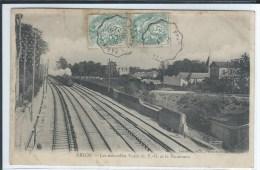 CPA  - 94 - ABLON - Les Nouvelles Voies DuP.O. Et Le Panorama - Train - - Ablon Sur Seine