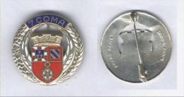 Insigne De La 7e Section De Commis Ouvriers Militaires D'Administration - Armée De Terre