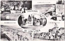 14. Pf. Souvenir De LION-SUR-MER. 5 Vues. 1548 - France