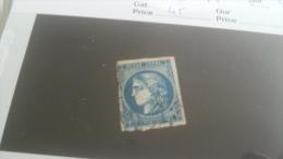 LOT 221988 TIMBRE DE FRANCE OBLITERE N�45