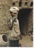 Photo Carte Postale Fillette Dogonne Plateau DOGON - Mali - Mali