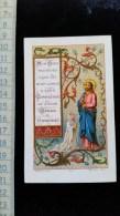 "Chromo Image Religieuse 19eme,"" 1ere Communion"" - Images Religieuses"