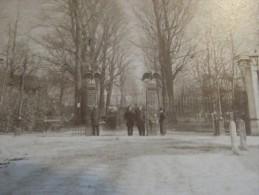 PHOTO VINTAGE CIRCA 1880 AMSTERDAM  NATURA ARTIS MAGISTRA - Photos