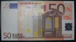 50 EURO G044 B5 Germany Draghi Serie X  UNCIRCULATED - EURO