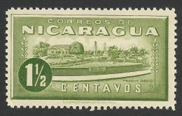 Nicaragua, 1 1/2 C., 1939, Scott # 674, MH - Nicaragua