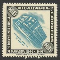 Nicaragua, 5 C., 1947, Scott # 702, MH - Nicaragua