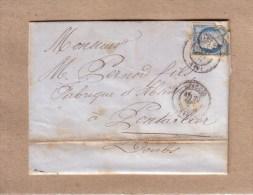 CORSE - AJACCIO - CAFE ET BRASSERIE , COURS GRANDVAL - ABSINTHE - DE GEORGES EIDEL A PERNOD FILS , PONTARLIER - 1876 - 1800 – 1899