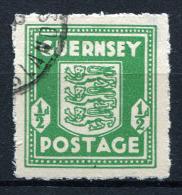 18201.1) DT.BES. Guernsey # 1 Gestempelt Aus 1941, 15.- € - Occupation 1938-45