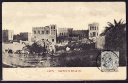Indien - LAMEJ - Sultan's Building - AK Fr. 3 Pies 14.MY.04nach Italien - Inde