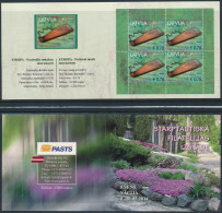 """LATVIA/Lettland  EUROPA 2014 """"National Music Instruments"""" UNPERFORATED 'Essen' Booklet ** - 2014"""