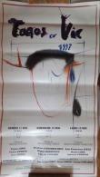 AFFICHE TAUROMACHIE TOROS � VIC 1997