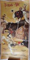 AFFICHE TAUROMACHIE TOROS � VIC 1994
