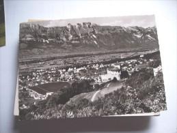 Liechtenstein Vaduz Blick Ins Rheintal - Liechtenstein