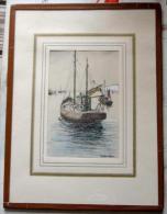 Vissersboot Door R. Quintyn (Le Zoute) - Dessins